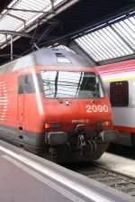Re460/7135/re460030-0-design-bahn-2000-taufname-saentis RE460030-0 Design Bahn 2000 Taufname: Säntis.